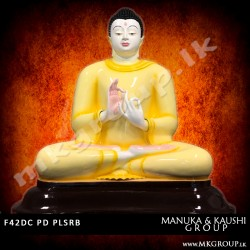 FIBER 42inch - Dharmachakra Buddha Statue