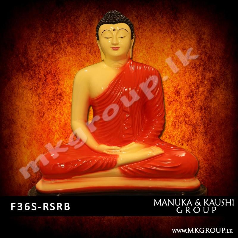 FIBER 36inch - Dhyana Buddha Statue