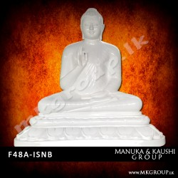 FIBER 48inch - Ashirwada Buddha Statue